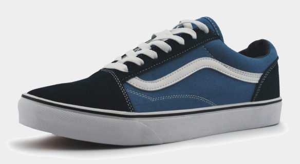 Vans Old Skool черно-синие