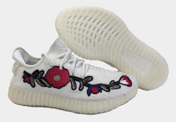 Фото Adidas Yeezy Boost 350 V2 by Kanye West белые - 2